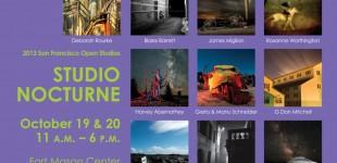 2013 Studio Nocturne postcard